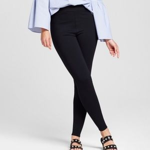Forever21 Ribbed Ponte Pants